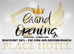GRAND OPENING PEACE HOTEL HALONG 01.06.2021